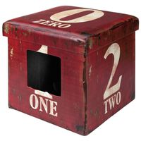 D&D Huisdierenpoef One 38x38x38 cm rood 434/426067