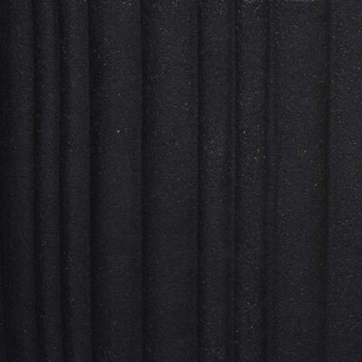 Capi Bloempot Urban Tube taps 40x40 cm zwart KBLT801