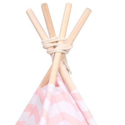 vidaXL Kattentipitent met tas 60x60x70 cm peachskin roze