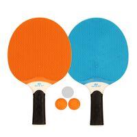 Get & Go Tafeltennisset blauw/oranje/lichtgrijs 61UP