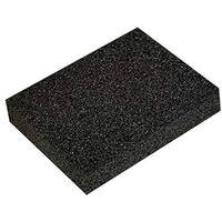puimsteen 12 x 9 cm zwart