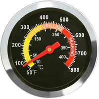 Analoge Frituurthermometer Voor Grill & Oven Rvs 6x73 Mm
