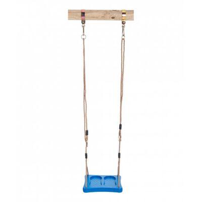 voetschommel 35 x 35 cm kunststof blauw