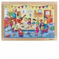 Beleduc Verjaardagspuzzel Frame 12003