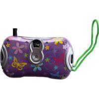 Goki mini-camera viewer bloem paars/geel