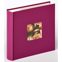 Walther Design Fotoalbum Fun Memo 200 foto's 10x15 cm violet