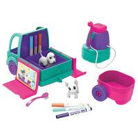 Crayola Spaspeelgoedauto Washimals