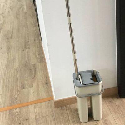 Aqua Laser Dweil Easy Flat grijs