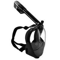 SportX Snorkelmasker volgelaat maat S/M zwart 2000016