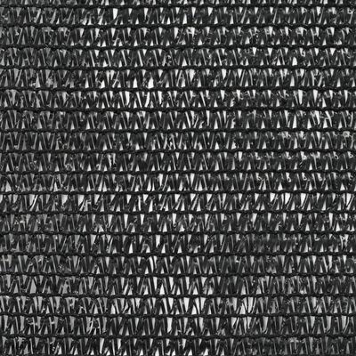 vidaXL Tennisscherm 1,4x100 m HDPE zwart