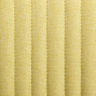 vidaXL Eetkamerstoelen 2 st stof groen