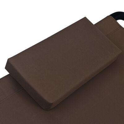 vidaXL Tuinbed 200x90 cm staal bruin