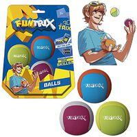 Funtrix jongleerballen Juggling 3 stuks 5 cm