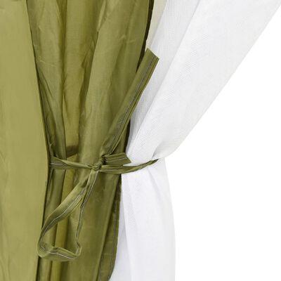vidaXL Zwembadtent 500x433x250 cm stof groen