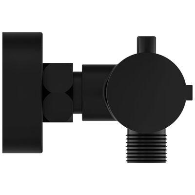 SCHÜTTE Douchemengkraan LONDON thermostatisch 5,5 cm matzwart