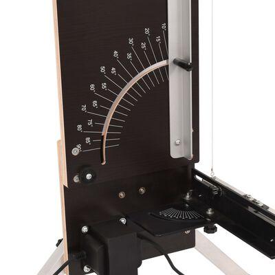 vidaXL Schuimsnijder met poten 200 W multiplex