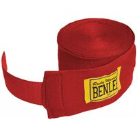 Bandage Benlee 4,5 meter Rood