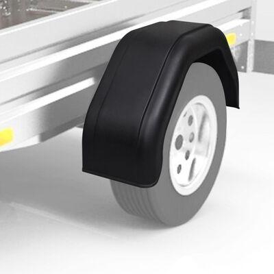 vidaXL Spatbord voor wielen van een aanhanger 200 x 680 mm 2 st