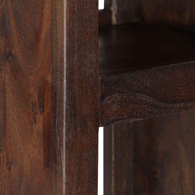 vidaXL Wandkast 40x30x110 cm massief acaciahout