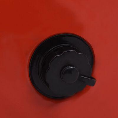 vidaXL Hondenzwembad inklapbaar 120x30 cm PVC rood