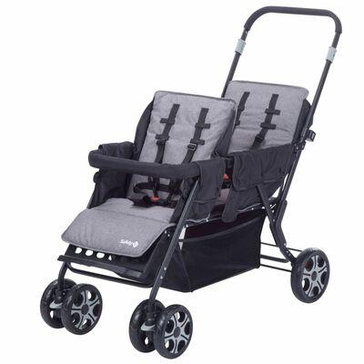 Safety 1st Tandem kinderwagen Teamy zwart 1151666000