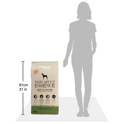 vidaXL Premium hondenvoer droog Maxi Adult Essence Beef & Chicken 15kg