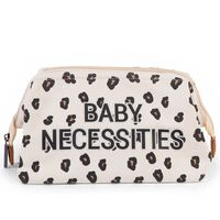 CHILDHOME Toilettas Baby Necessities luipaardprint