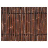 vidaXL Schuttingpaneel 170x125 cm bamboe donkerbruin