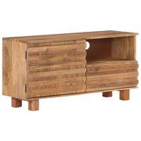 vidaXL Tv-meubel 90x30x45 cm massief mangohout
