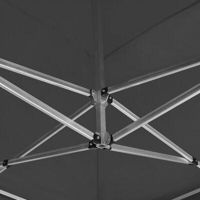 vidaXL Partytent professioneel inklapbaar 6x3 m aluminium antraciet