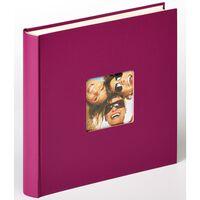 Walther Design Fotoalbum Fun 100 pagina's 30x30 cm violet