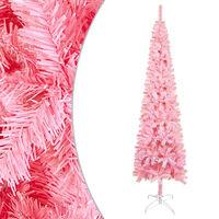 vidaXL Kerstboom smal 180 cm roze