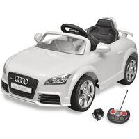 vidaXL Elektrische auto Audi TT RS met afstandsbediening wit