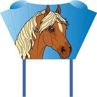 Invento eenlijnskindervlieger Sleddy Pony 76 cm blauw