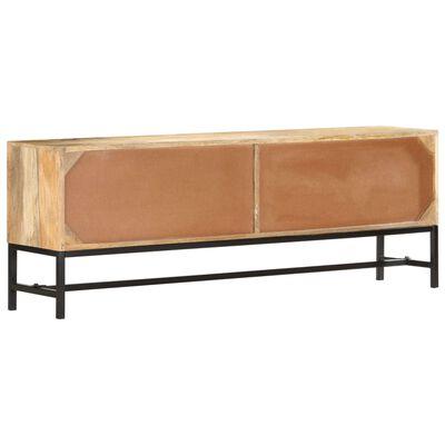 vidaXL Tv-meubel 140x30x50 cm massief mangohout