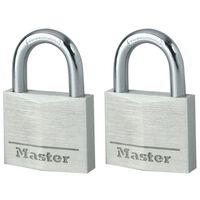 Master Lock Hangslot 40 mm aluminium 2 st 9140EURT