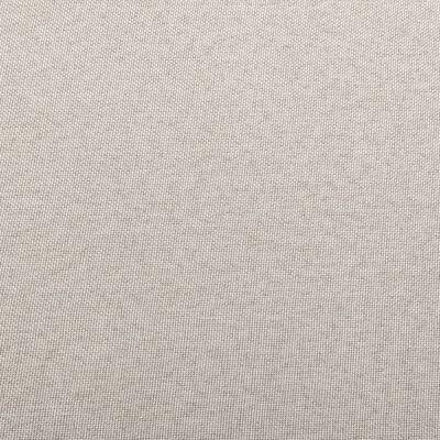 vidaXL Hoekbank sectioneel met kussen stof crème