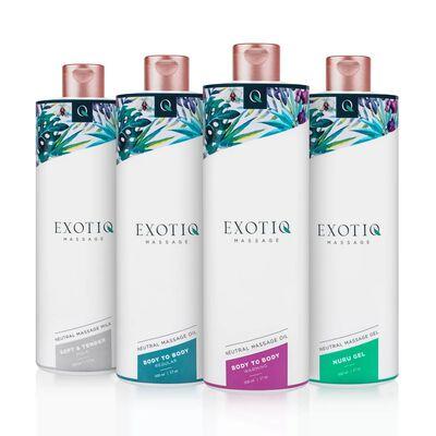 Exotiq Body To Body Oil - 500 ml,