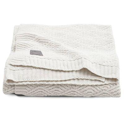 Jollein Deken River Knit 100x150 cm crèmewit