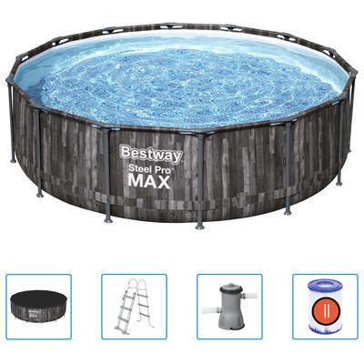 Bestway Zwembadset Steel Pro MAX rond 427x107 cm