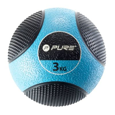 Pure2Improve Medicijnbal 3 kg blauw