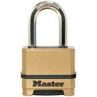 Master Lock Hangslot Excell zink 56 mm brons M175EURDLF