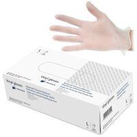 Herotouch Beschermende Vinyl Wegwerp Handschoenen - Poedervrij - 100