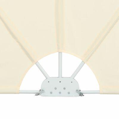 vidaXL Terrasscherm inklapbaar 300x200 cm crème