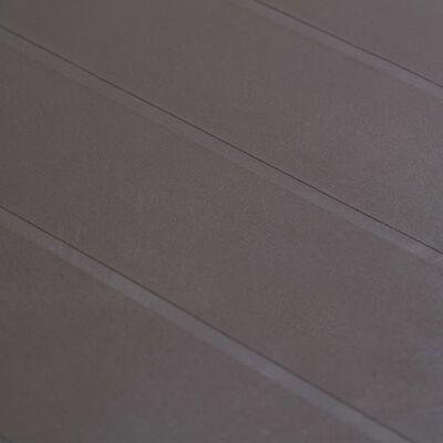 vidaXL Tuintafel 150x90x72 cm rattan-look kunststof bruin