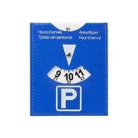 ProPlus parkeerschijf 12 x 10 cm blauw
