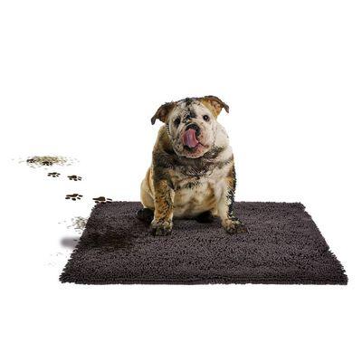 Duvo+ Huisdierenmat MagicClean 90x65 cm donkergrijs