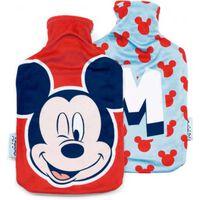 waterkruik met hoes Mickey Mouse 2 liter fleece rood