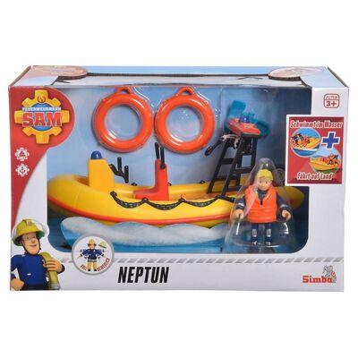 Simba Speelgoedboot Neptune rood en geel
