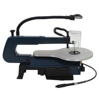 vidaXL Figuurzaagmachineset 125 W 252 mm 108-delig